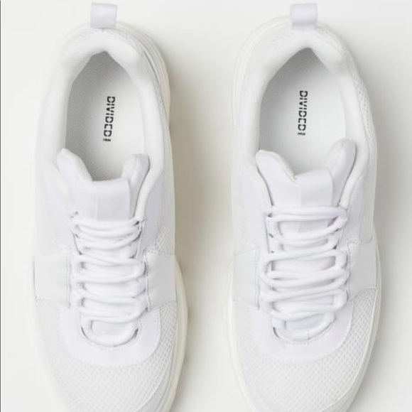 H\u0026M Shoes | Hm White Chunky Sneakers